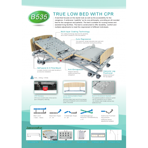 TURE LOW BED WITH CPR