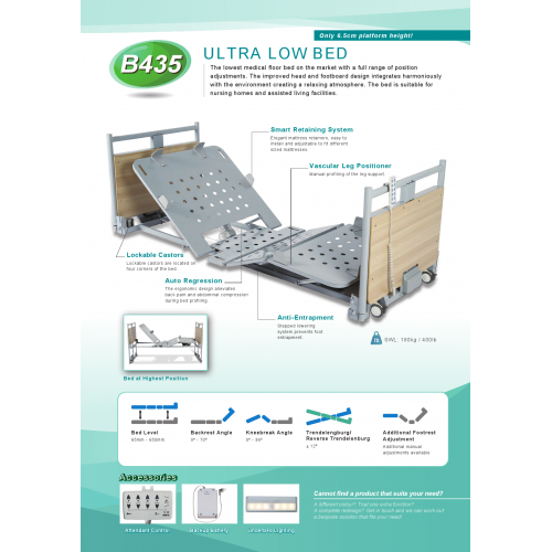 ULTRA LOW BED
