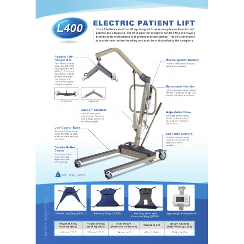 ELECTRIC PATIENT LIFT