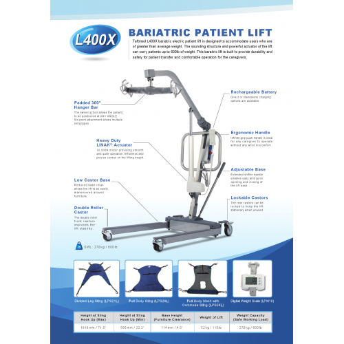 BARIATRIC PATIENT LIFT